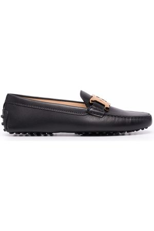 Tod's Kate chain-embellished leather loafers