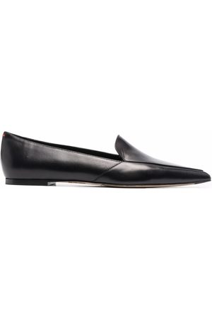 Aeyde Naiset Loaferit - Martha pointed leather loafers