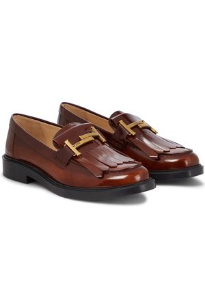 Tod's Naiset Loaferit - Double T leather loafers