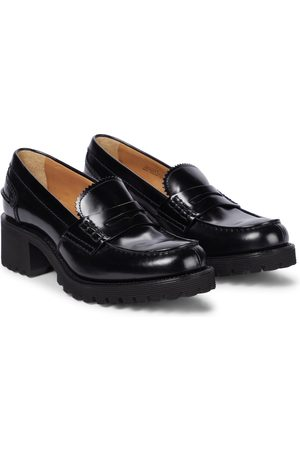 Church's Platform leather loafers