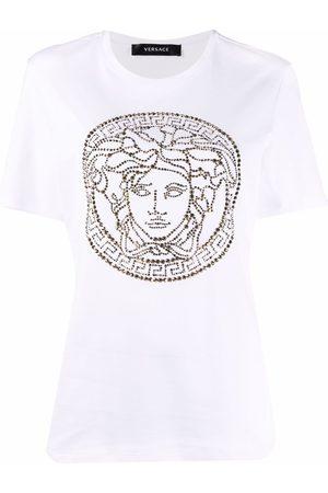 VERSACE Naiset T-paidat - Medusa-head motif short-sleeve T-shirt