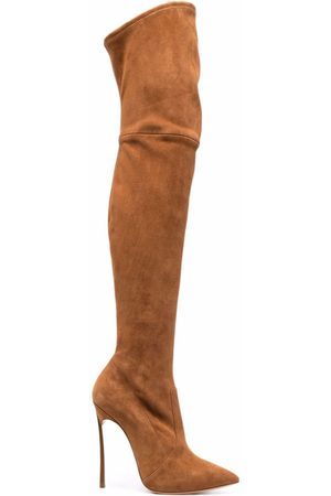 Casadei Naiset Ylipolvensaappaat - Blade over-the-knee 115mm boots