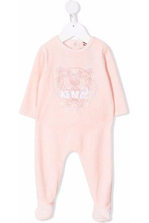 Kenzo Tiger-motif embroidered pajamas
