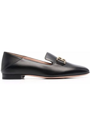 Bally Naiset Loaferit - Logo-plaque loafers