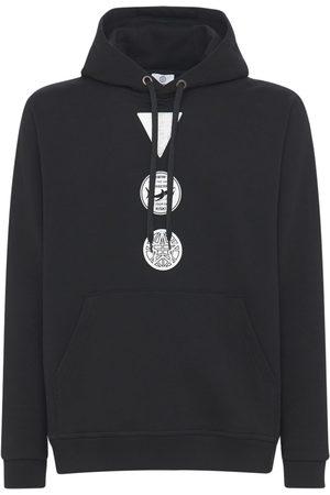 Burberry Miehet Collegepaidat - Badges Cotton Jersey Hoodie
