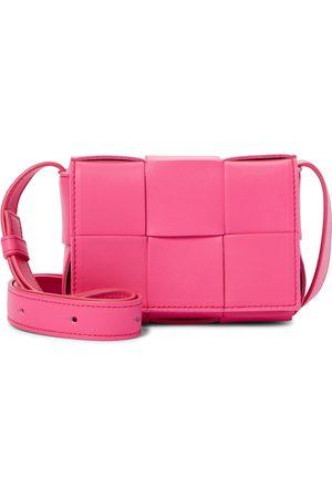 Bottega Veneta Cassette Mini leather crossbody bag