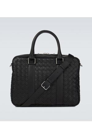 Bottega Veneta Intrecciato Hydrology leather briefcase