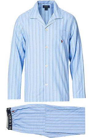 Polo Ralph Lauren Cotton Pyjama Set Blue Stripe