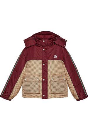 Gucci Naiset Untuvatakit - GG parachute padded colour-block jacket