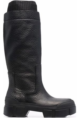 vic matiè Naiset Ylipolvensaappaat - Quintino knee-high leather boots