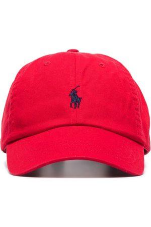 Polo Ralph Lauren Miehet Hatut - Logo-embroidered cotton cap