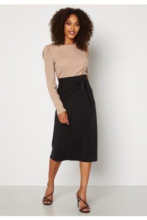 Object Naiset Midihameet - Alina Skirt Black XS