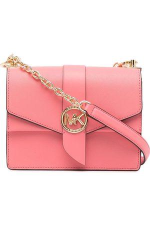 Michael Kors Naiset Olkalaukut - Greenwich Small Saffiano leather bag