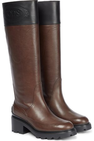 Tod's Knee-high leather boots