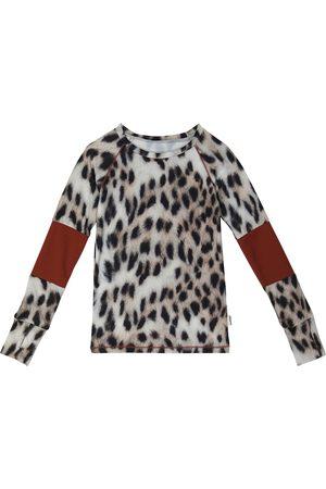 Molo Odelia leopard-print sports top