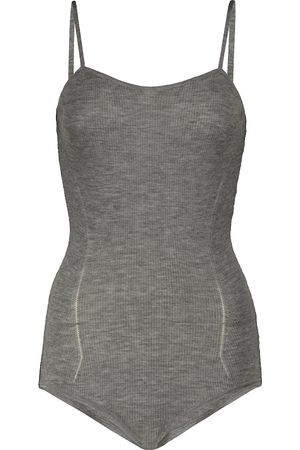 Alaïa Cashmere-blend bodysuit