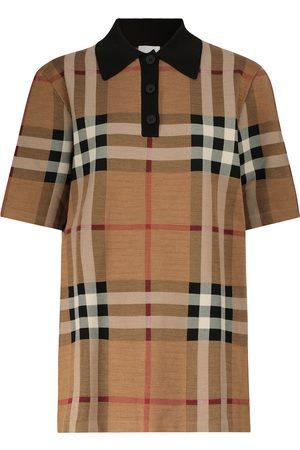 Burberry Checked polo shirt