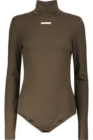 Maison Margiela Stretch-knit bodysuit