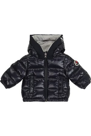 Moncler Baby Salzman quilted down jacket