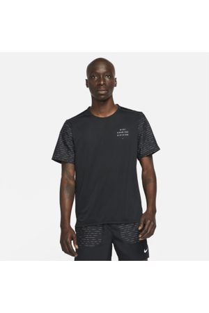 Nike Miehet T-paidat - Dri-FIT Rise 365 Run Division Men's Short-Sleeve Running Top - Black