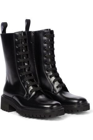 Church's Gwyneth leather combat boots