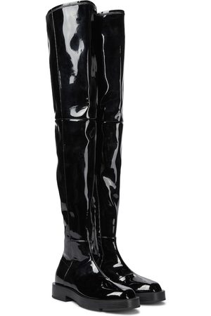 Givenchy Patent leather over-the-knee boots
