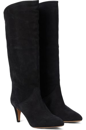 Isabel Marant Naiset Ylipolvensaappaat - Laylis suede knee-high boots