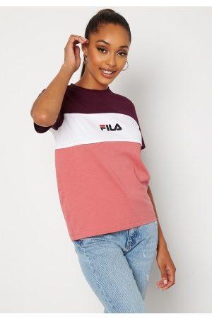 FILA Naiset T-paidat - Anokia Blocked Tee B449 rose, wb, bw S