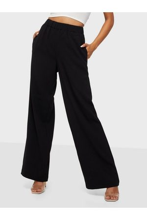 SELECTED Naiset Leveälahkeiset - Slftinni-Relaxed Mw Wide Pant B Noo