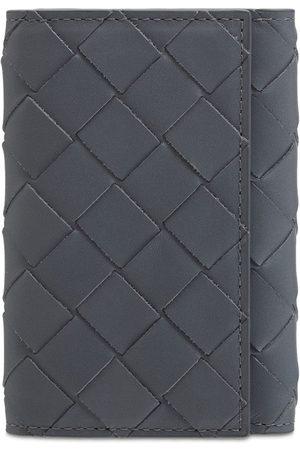Bottega Veneta Intreccio Leather Key Holder Case