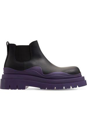 Bottega Veneta Miehet Nilkkurit - Bv Tire Leather Chelsea Mid Boots