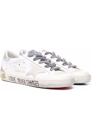 Golden Goose Tennarit - Love Never Changed low-top leather sneakers