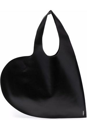 COPERNI Heart-shape leather tote bag