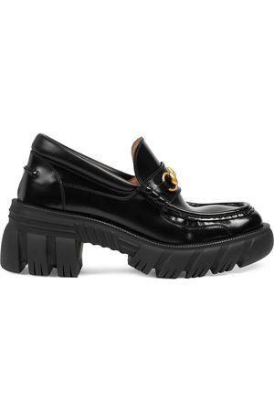 Gucci Horsebit buckle platform loafers
