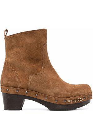 Pinko Naiset Nilkkurit - Clog-style ankle boots