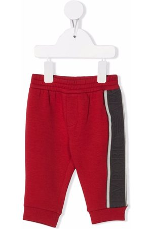 Emporio Armani Kids Housut - Elasticated waistband trousers