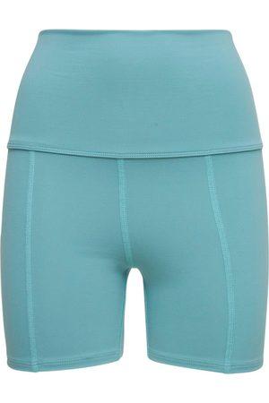 LIVE THE PROCESS Geometric Seamless High Waist Shorts