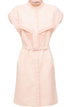 STELLA MCCARTNEY Cotton Blend Belted Dress