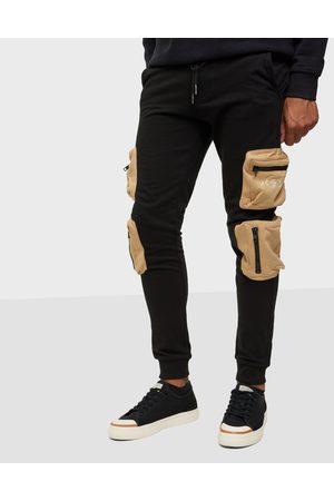 Denim Project Miehet Collegehousut - Dp 3D Sweatpants Housut & shortsit Black