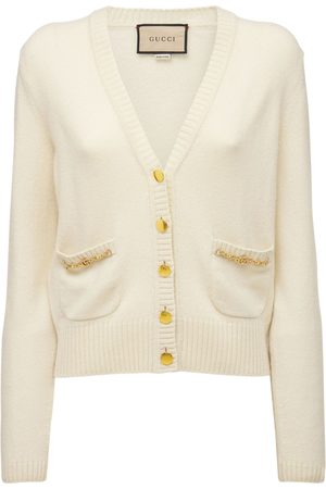 Gucci Naiset Neuletakit - Cashmere Knit Cardigan W/ Horsebit