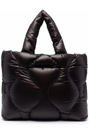 Miu Miu Quilted faux-leather tote