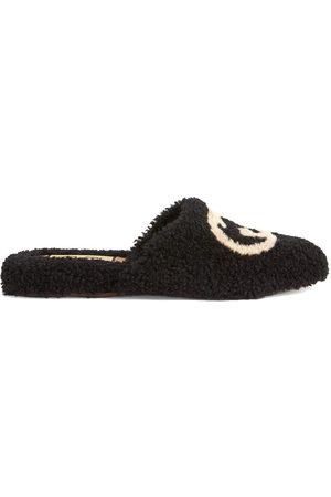 Gucci Interlocking G merino slippers
