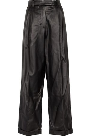 Marni High-rise leather pants