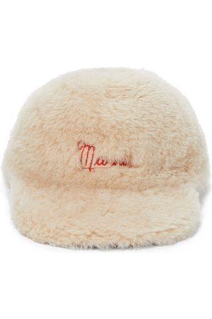 Marni Naiset Hatut - Shearling baseball cap