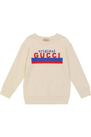 Gucci Long-sleeved cotton sweatshirt