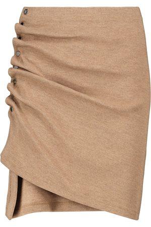 Paco rabanne Stretch-jersey miniskirt