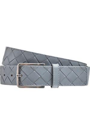 Bottega Veneta 3.5cm New Intreccio Buckle Leather Belt