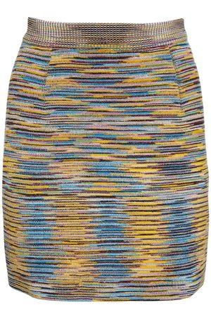 MISSONI Naiset Minihameet - Wool Blend Knit Mini Skirt