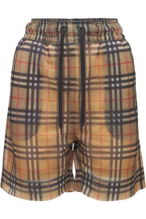 Burberry Naiset Shortsit - Tawney Check Logo Shorts