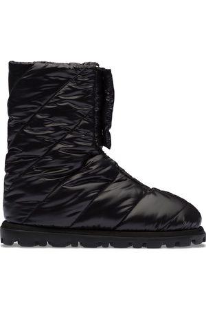 Miu Miu Naiset Nilkkurit - Panelled ankle boots